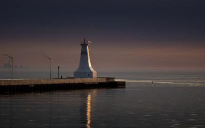 Lighthouse sunrise 2