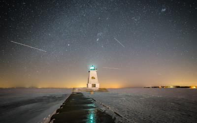 Port Maitland Winter Sky
