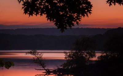 Princess Point sunset