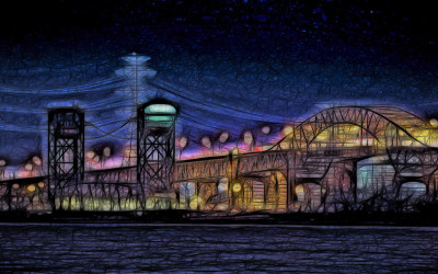 Neon Skyway